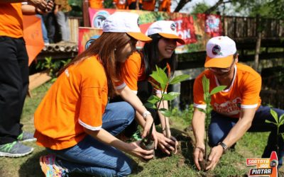 CSR of Planting Mangroves On April 7th, 2018