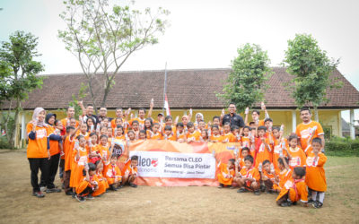"CSR for education: SDN 2 Banjar Banyuwangi East Java with CLEO ""Everyone Can Be Smart"""