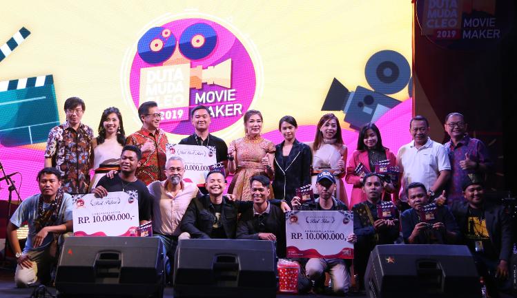 Duta Muda Cleo 2019 : Pembawa Perubahan Positif Lewat Movie Maker